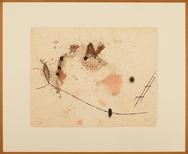 Joan Miró, 'Sin título II', 1971, Galería Daniel Cardani