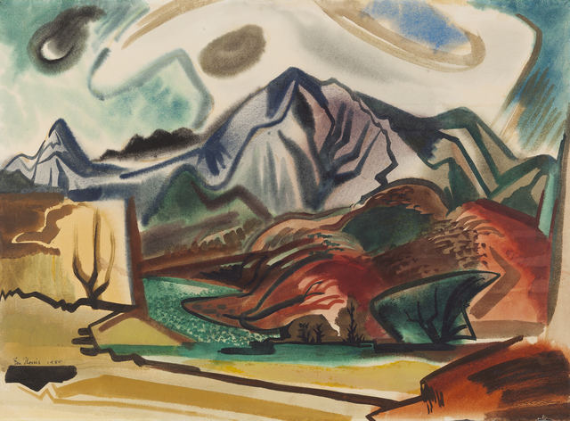 , 'Hawaiian Landscape Composition II,' 1950, Childs Gallery