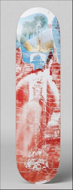 , 'Sky Garden, Limited Edition Skateboard Deck with mounting hinges,' 1969-2014, Alpha 137 Gallery