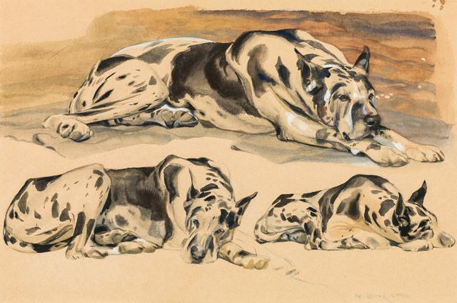 , 'Three Great Dam,' ca. 1940, Galerie Kovacek & Zetter
