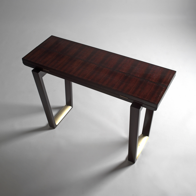 , 'A console being transformed into occasional table,' ca. 1936, Galerie Alain Marcelpoil