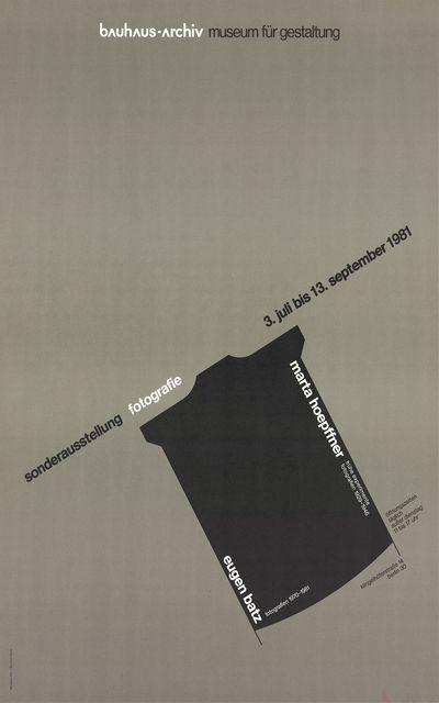, 'Marta Hoepffner - Eugen Batz Exhibition,' 1981, ArtWise