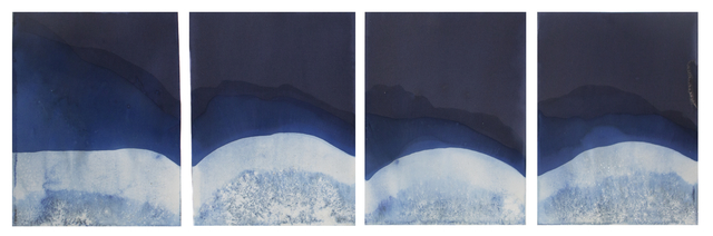 , 'Muybridge Tides #11 (Rapidly Submerged Paper, Chattahoochee River, GA, 08.28.17),' 2017, Jackson Fine Art