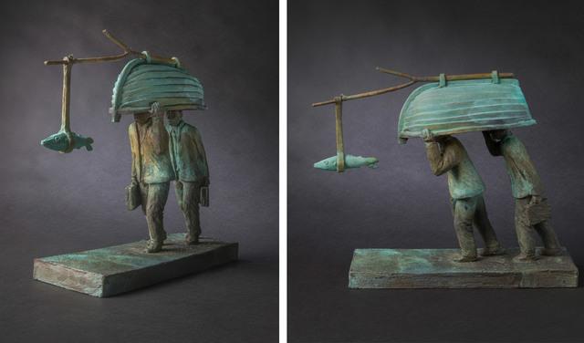 , 'Crossing the Desert ,' 2016, Flinders Lane Gallery