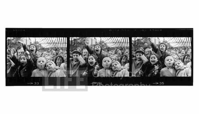 """Alfred Eisenstaedt, 'Three Framed of """"The Puppet Show""""', 1963, Photography, Silver Gelatin Print, Contessa Gallery"""