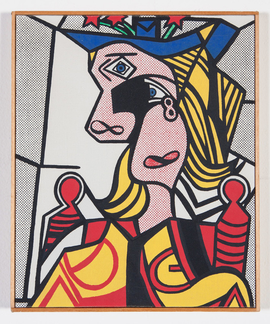 """, '""""Roy Lichtenstein - Woman with Flowered Hat, 1963"""",' 1970, Scott White Contemporary Art"""