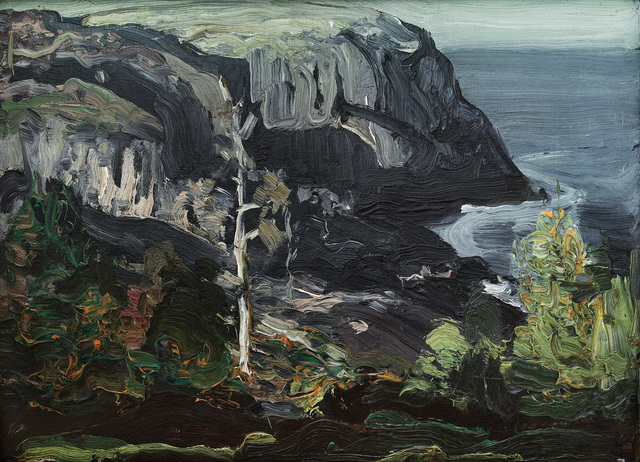 George Wesley Bellows, 'Ocean Headland, Black Head Monhegan', 1911, Alexandre Gallery