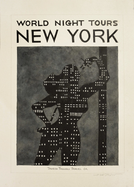 , 'NEW YORK,' 2014, Ronin Gallery