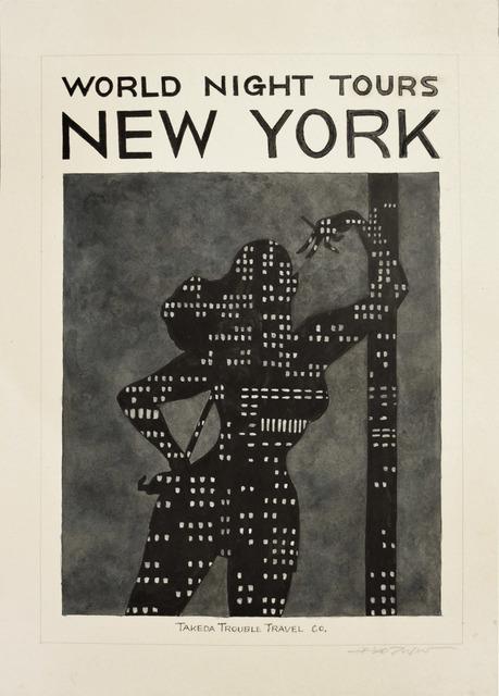 Hideo Takeda, 'NEW YORK', 2014, Ronin Gallery