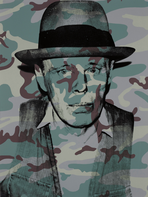 Andy Warhol, 'Joseph Beuys in Memoriam, from For Joseph Beuys', 1986, Print, Screenprint in colours, on Arches 88 paper, the full sheet., Phillips