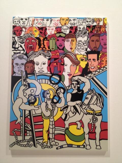 , 'Acrobats,' 2011, Galerie Ernst Hilger