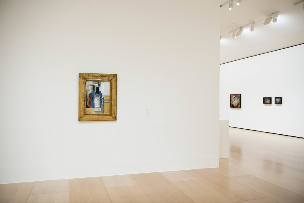 "Installation view of ""The Collection of Hermann and Margrit Rupf"" at Guggenheim Bilbao, November 11, 2016 - April 23, 2017"