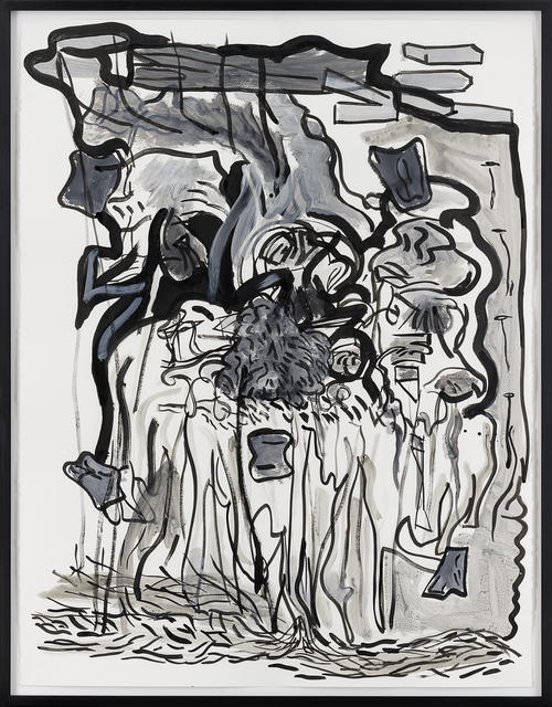 , 'Untitled (NY black),' 2014, Galerie Eva Presenhuber