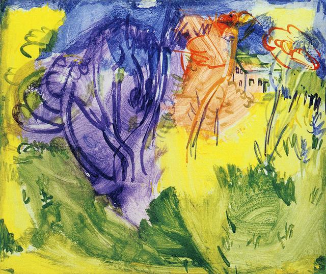 , 'Purple Tree,' ca. 1936, Somerville Manning Gallery