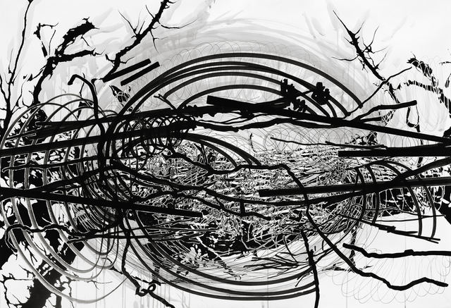 , 'Cosmic Rifts #9,' 2009, Galleri Bo Bjerggaard