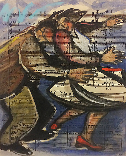 , 'Dance #2 on Beethoven,' , The South Street Gallery