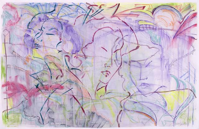 Lauren Jones Worth, 'Gossiping Geisha', Walter Wickiser Gallery