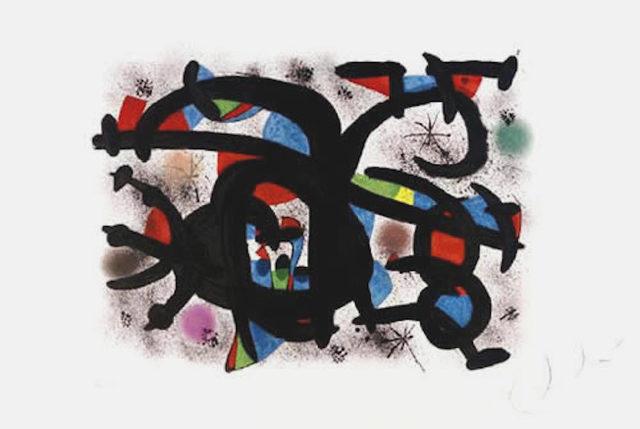 Joan Miró, 'Le Calin Catakan (M.1242)', 1981, Denis Bloch Fine Art
