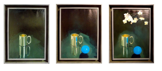 , 'Locus I, II, III,' 2016, Art Bastion Gallery