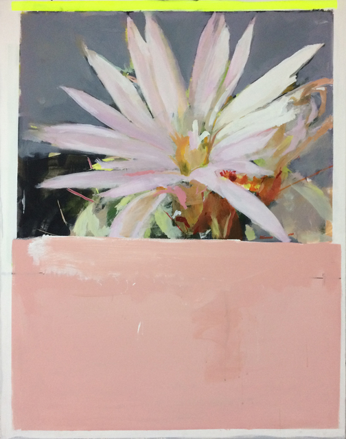 , 'CACTUS FLOWER,' 2018, saltfineart