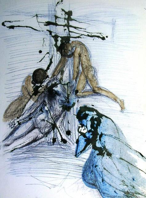 , 'The Taking Down From The Cross,' 1967, Baterbys Art Gallery