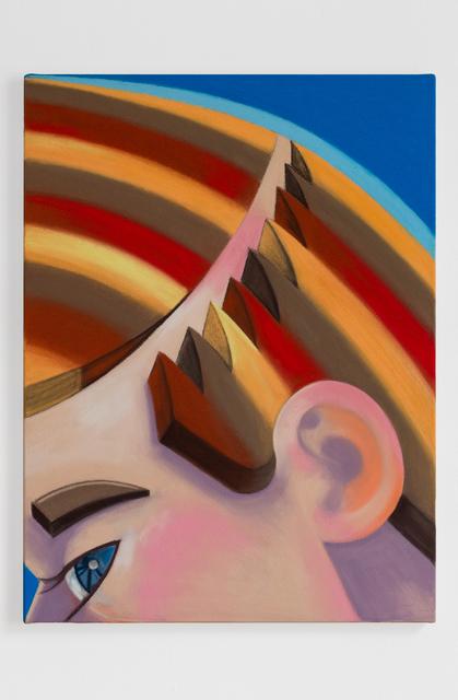 , 'Hair Part,' 2017, MEGA Foundation