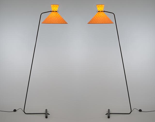 Robert Mathieu, 'Pair of floor lamps', ca. 1953, Galerie Pascal Cuisinier