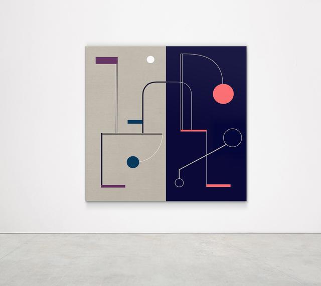 , 'Star Clock at Night (Buckminster Fuller),' 2018, Kristin Hjellegjerde Gallery