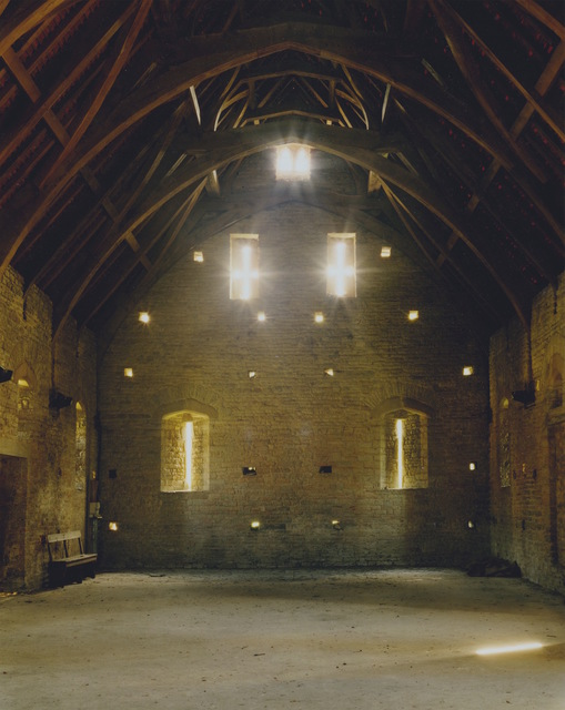 , 'Site for the Final Duel, Barry Lyndon, Pilton Tithe Barn, Somerset, England.,' 2016, Field Editions