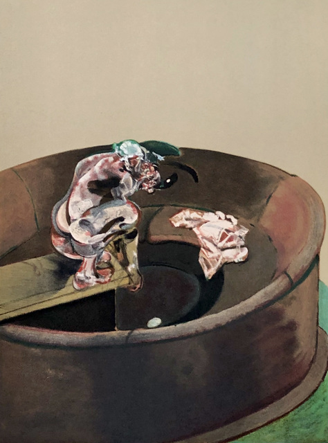 Francis Bacon, 'Francis Bacon Portrait of George Dyer Crouching, lithograph 1966', 1966, Lot 180