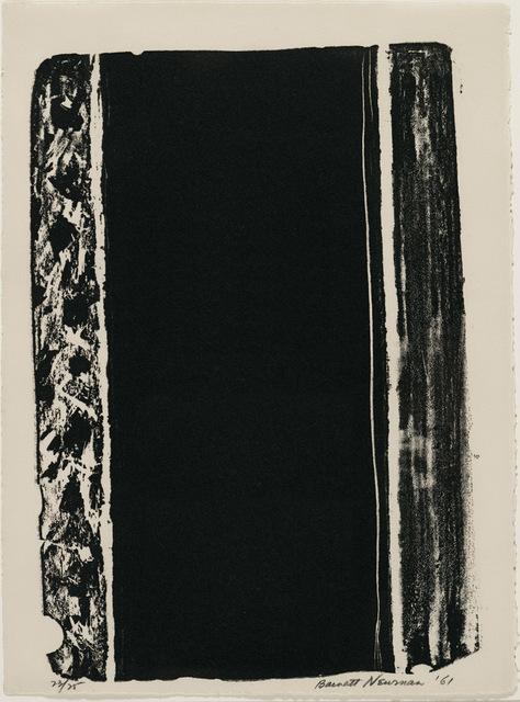 Barnett Newman, 'Untitled', 1961, Brooke Alexander, Inc.