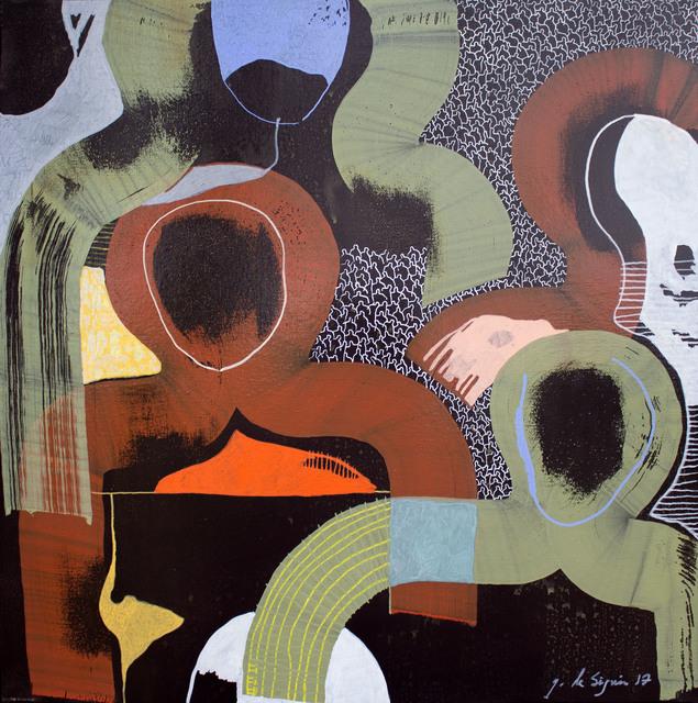 Gaëtan de Seguin, 'J+4 amis ', 2014, Artist's Proof