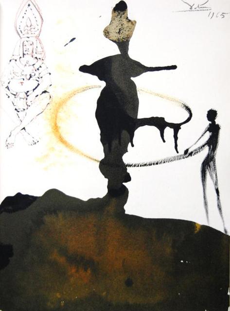 Salvador Dalí, 'The Dance Of Herodias Daughter', 1967, Print, Original colored lithograph on heavy rag paper, Baterbys