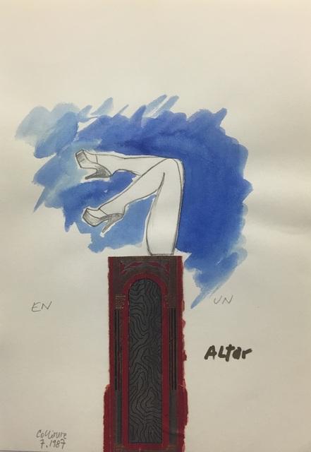 , 'En un altar,' 1987, ADN Galeria (Barcelona)