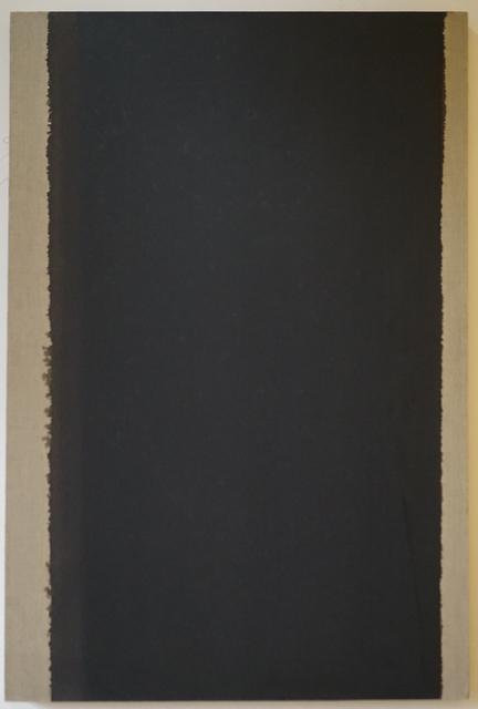 , 'Burnt Umber & Ultramarine Blue ,' 1999, The Columns Gallery