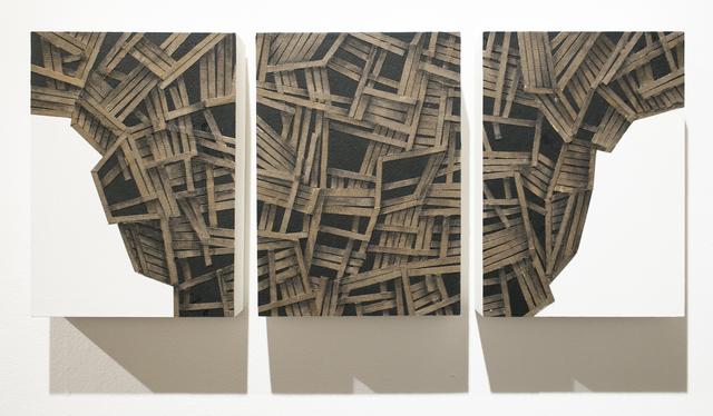 , 'Hive, Triptych,' 2018, Paradigm Gallery + Studio