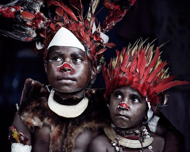 , 'XV 82 -Lufar Childeren, Goroka, Eastern Highlands, Papua New Guinea,' 2010, AbrahamArt