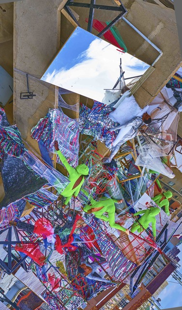 , 'Burst,' 2017, HAZARD Gallery