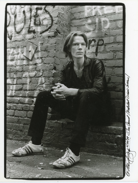 , 'Jim Carroll in Mabuhay Alley, North Beach #1,' 1979, Milk Gallery