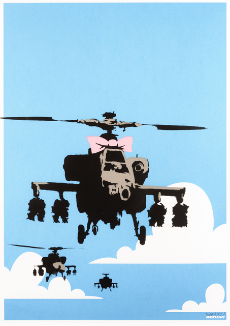 Banksy, 'Happy Choppers', 2003, Tate Ward Auctions