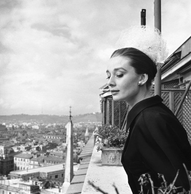 , 'Audrey Hepburn in Rome,' 1960, National Portrait Gallery