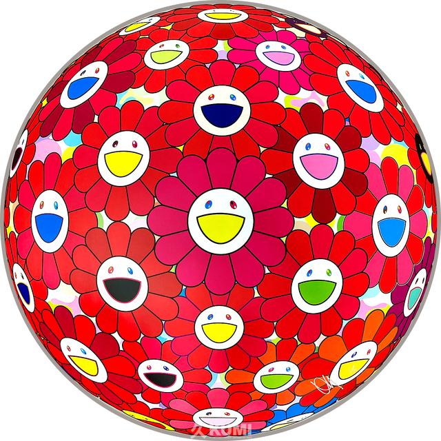 Takashi Murakami, 'Flower Ball (Thinking Matter)', 2017, Kumi Contemporary / Verso Contemporary