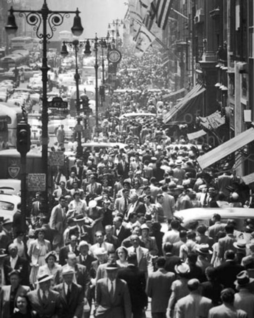 Andreas Feininger, 'Fifth Avenue Looking North from 32nd Street, New York', 1948, Contessa Gallery