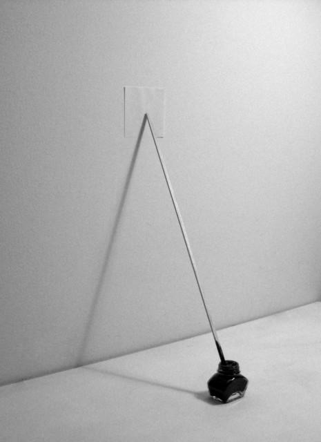 , 'Paper on Ink,' 2013, Josée Bienvenu