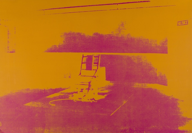 Andy Warhol, 'Electric Chairs (Sunday B. Morning)', Forum Auctions