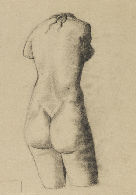 , 'Back of a Nude,' ca. 1944, The Scottish Gallery