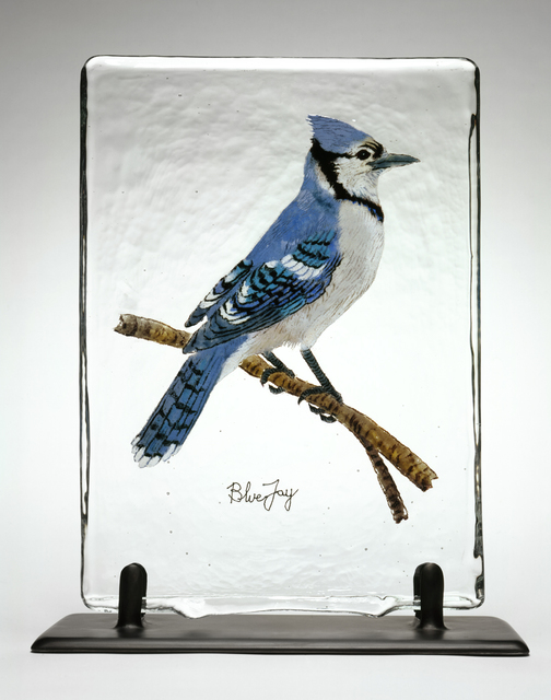 , 'BIRD PAGE: BLUE JAY,' 2006, Traver Gallery