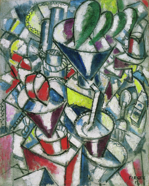 Fernand Léger, 'Nature morte aux cylindres colorés (Still Life with Coloured Cylinders),' 1913, Fondation Beyeler