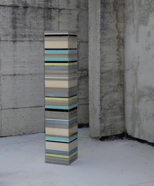, 'Colonna,' 2015, The Flat - Massimo Carasi