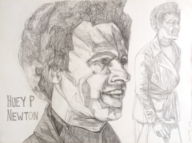 , 'Huey P Newton,' 2014, Ignacio Liprandi Arte Contemporáneo